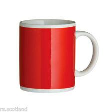 Porcelain Mugs 11oz Yellow Mug Set of 6