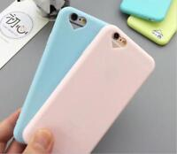 Silicone Cute Candy Heart Rubber Gel TPU Case Cover For Apple iPhone 5/5S/6/6S/7