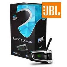 Cardo Scala Rider Packtalk Bold JBL Motorcycle Bluetooth Intercom BTSRPTBJ