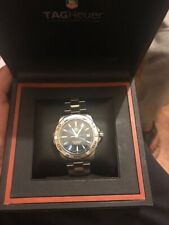 Tag Heuer Aquaracer 300Metres men's wristwatch in superb boxed condition.
