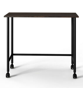 Your Zone Beckett Kids Metal Rolling Writing Desk, Multiple Finishes