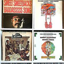 Blaxploitation Soundtrack Vinyl Record Lot #19 Bobby Womack Donny Hathaway