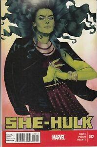 SHE-HULK #12 Main Cover New/Unread Marvel Comics Jan 2015
