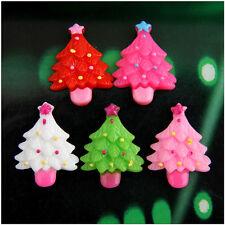 120 Christmas tree Resin flatback Scrapbooking For DIY phone /craft Christmas