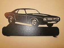 CUSTOM  1971 DODGE CHALLENGER MAILBOX TOPPER(NO NAME) STEEL BLACK POWDER COAT