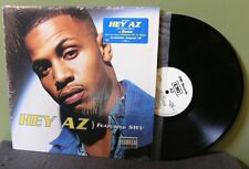"AZ feat SWV ""Hey AZ"" 12"" NM in shrink OC Nas Wu-Tang Clan Mob Deep The Firm"