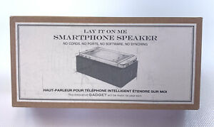 Smartphone Speaker Restoration Hardware Lay It On Me No Synching Cordless