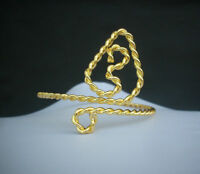 Belly Dance Costume Fashion Jewelry Ethnic Indian Golden Upper Arm Armlet Cuff