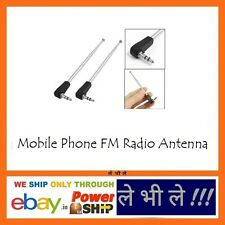 Stretchable 3.5mm FM Radio Antenna for Mobile Cell Phones Transmitters Receivers