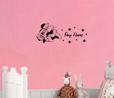 Minnie Mouse a medida PERSONALIZADO EN Disney Estilo Arte Pegatina Imagen Póster