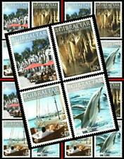 $ Wholesale $ GIBRALTAR 2004 EUROPA-CEPT /VACATIONS x5 MNH DOLPHIN, ANIMALS