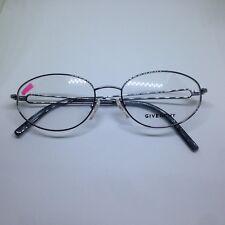 GIVENCHY VGV076 occhiali da vista donna vintage metal silver glasses brille