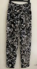 Ladies TOPSHOP Designer Floral Sheer Pants. Size 6. EUC