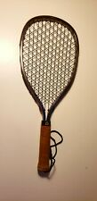 Vtg 1970s Omega Mad Raq Excalibur Aluminum Racquet in case. Good condition. Nice