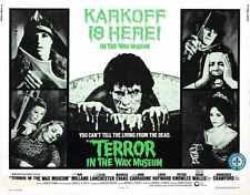 Terror In Wax Museum Poster 02 Metal Sign A4 12x8 Aluminium