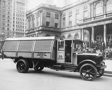 NYC Department of Sanitation Truck 1930s 8x10 Silver Halide Photo Print