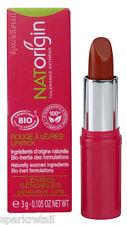 NATOrigin Organic 100% Natural LIPSTICK 3g CORAIL/CORAL Brick Red/Cinnamon