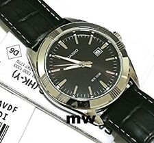 CASIO BLACK CLASSIC LEATHER STRAP ANALOG QUARTZ DATE MTP1308L-1A Water Resistant