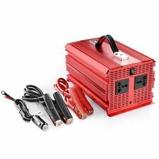 BESTEK 2000W Car Power Inverter DC 12V to 230V AC 2 Sockets Chargers Converter