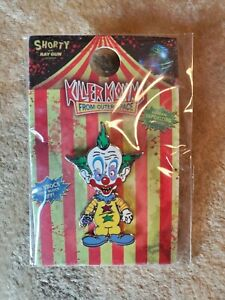 killer klowns from outer space SHORTY enamel Pin 2019 Halloween Horror Nights