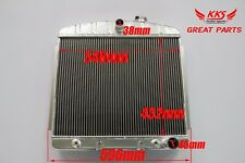 KKS 3 ROW 1955-1957 Chevy Chevrolet Bel Air V8 engine Aluminum Radiator