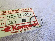 2 KAWASAKI F11,9,8,5 KX250 TECATE JF650 JS900 JS300 PISTON PIN CIRCLIP 92036-015