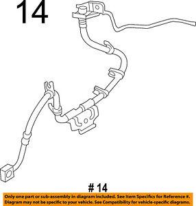 Ram CHRYSLER OEM 14-17 3500 Front Brake-Flex Hose 68224904AJ