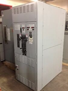 ASCO 7000 Series Closed Transfer Switch W/ Bypass & Iso - 1200A 3p 480/277V Used