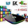 Q Plus QBOX Q+ 4GB 64GB Amlogic Android 9.0 WIFI Smart TV BOX UK Stock
