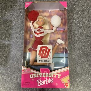 Barbie 1996 Oklahoma University Barbie Cheerleader Mattel