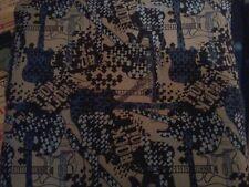 Guitar cotton blend fabric