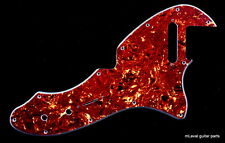 69 Telecaster Tele Thinline Re-Issue Style Guitar Pickguard ,4Ply Red Tortoise