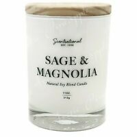 Scentsational Natural Soy Blend 11oz 1 Wick Medium Candle - Sage & Magnolia