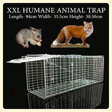 93cm Extra Large Possum & Turkey Trap / Pet / Animal Transporter Humane Cage
