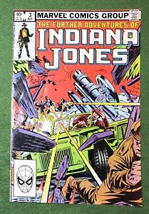 Indiana Jones #3 Marvel Comics Bronze Age Raiders of the Lost Ark g/vg