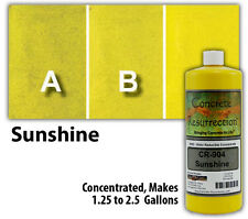 Professional Easy To Apply Water Based Concrete Stain Sunshine