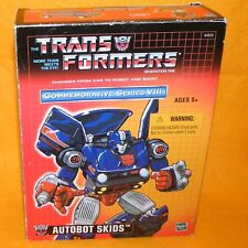 TAKARA 2004 TRANSFORMERS G1 AUTOBOT SKIDS REISSUE BOXED