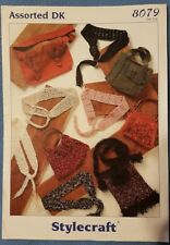 Knitting Pattern - Stylecraft Assorted DK Bags and Belts, 8079 (170453)