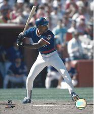 8x10 photo, baseball, Andre Dawson, Chicago Cubs batting,  circa 1987 game