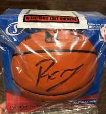 Kristaps Porzingis Autograph NBA Game Ball Series Signed Basketball STEINER COA