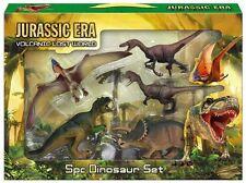 Jurassic Era Volcanic Lost World 5 Piece Dinosaur Figure Set - Plastic Dinosaurs