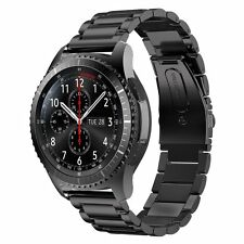 Samsung Gear S3 Frontier SM-R765 Bluetooth Smart Watch with Black Metal Band