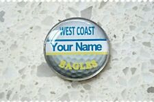 anneys - your OWN PERSONALISED  **EAGLES** golf ball marker!!