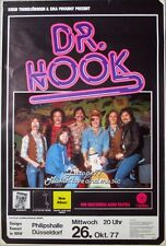 DR. Hook - 1977-concerto MANIFESTO-Makin Love and Music-TOUR POSTER-Düsseldorf