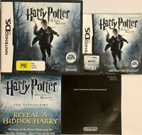 NINTENDO DS HARRY POTTER AND THE DEATHLY HALLOWS PART 1 PAL -Works on DS/2DS/3DS