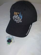 NEW Breeders Cup Hat With Collector Pin Official 35th Logo Churchill Downs KY