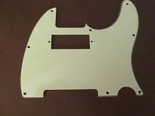 Mint Green  Tele / Telecaster mini Humbucker  Pickguard   Fits Fender 3-ply