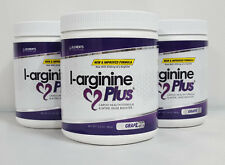 L-arginine Plus (3 Pak) -- 5,110mg L-arginine & 1,010mg L-citrulline per serving