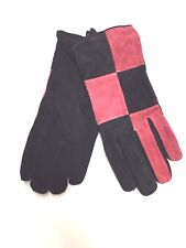 Genuine Leather Gloves Women Black Large Winter Walking Driving Gants Femme