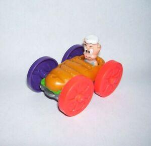 1990 Burger King Looney Toons Flip Car with Porky Pig and Tasmanian